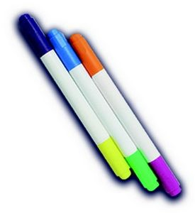 Starlyf® Fantastic Pad Ersatzstifte (6 Stifte mit 12 Farben) Zubehör Set zum Fantastic Pad Malbrett Malpad