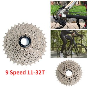9 fach MTB Fahrrad Kassette Zahnkranz Ritzelpaket 11-32 Zähne Ritzelblock