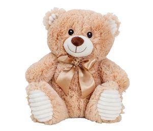 Teddy Bär 27 cm Kuscheltier Plüschtier Hellbraun