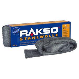 Rakso Stahlwolle  Sorte 1, 200 gramm