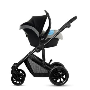 Kinderkraft Kombikinderwagen Prime Lite grau