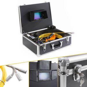 AREBOS Profi Rohrkamera mit 30m Schiebeaal und USB Anschluss - direkt vom Hersteller