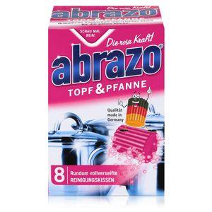 abrazo Topf & Pfanne Reinigungskissen - Die rosa Kraft