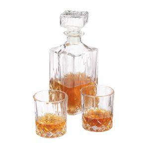 relaxdays Whisky Set aus Karaffe und Gläsern