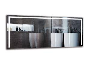 LED Spiegel PREMIUM - 180x80 cm - Badspiegel mit LED Beleuchtung - LED Lichtfarbe - Weiß kalt 6500K - Wandspiegel - Arttor - M1ZP-36-180x80