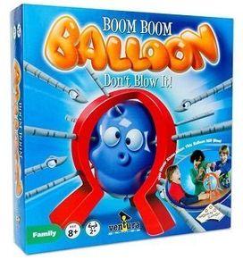 Geschicklichkeitsspiel BOOM BOOM BALLOON - Luftballon Spiel Bumm Bumm Ballon Reflex Game Partyspiel Familienspiel