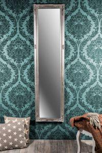 Wandspiegel antik silber Barock Deva 160 x 40 cm