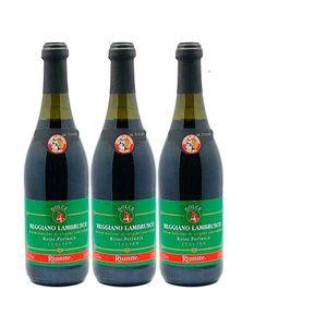 Rotwein Italien Lambrusco Regiano lieblich  (3x0,75L)