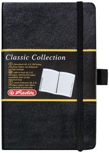 Herlitz Adressbuch Classic DIN A6 240 Blatt