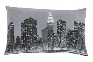 Dekokissen New York 30 x 50 cm Sofakissen Kopfkissen Skyline Kuschelkissen Motivkissen