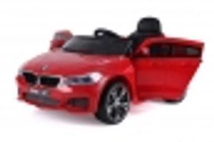 BMW 6er GT KINDER ELEKTRO AUTO KINDERFAHRZEUG SPORTWAGEN Ledersitz Gummireifen 12V Rot