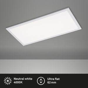 LED Panel Ultraflache Deckenlampe 24 Watt 4.000 Kelvin Weiß Briloner Leuchten