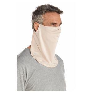 Coolibar - UV-Sonnenschutzmaske unisex - Lang - Beige