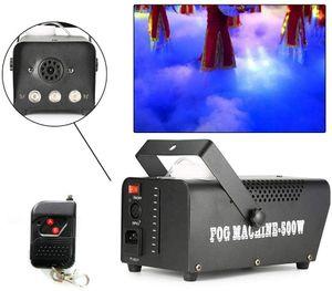 500W RGB Nebelmaschine Professionelle Rauchmaschine Multifuktionell LED-Licht Fog Machine mit Funkfernbedienung