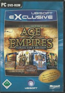 Age of Empires - Collectors Edition  [UBX]