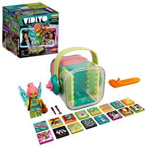LEGO 43110 VIDIYO Folk Fairy BeatBox Music Video Maker, Musik Spielzeug Set für Kinder mit AR App und Fee Minifigur