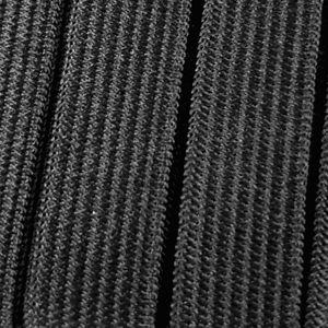 Gummiband - Qualitätsgummilitze 200cm x 13mm zum Nähen in - Schwarz