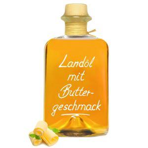 Landöl mit Buttergeschmack 0,5 L - wie zerlassene Butter - 100% cholesterin- und laktosefrei!