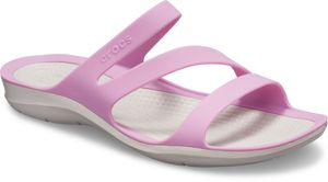 crocs Swiftwater Sandal Violet / Pearl Weiß Croslite Größe: 41/42 Normal