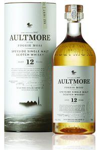 Aultmore 12 Jahre Speyside Single Malt Scotch Whisky in Geschenkpackung | 46 % vol | 0,7 l