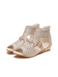 Frau Abtels Klassische Sandalen Für Outdoor-Outdoor-Schuhe,Farbe:Beige,Größe:41
