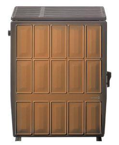 Werkstattofen / Kohleofen Wamsler KS109-6A maron 6 kW