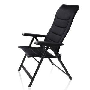 yourGEAR Caravan Hochlehner Sovana 3D - großer XXL Gartenstuhl, Klappstuhl mit 3D Mesh-Bezug, 6-fach verstellbarer Stuhl