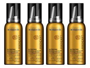 Loreal Serie Expert Nutrifier Glycerol & Coco Oil Overnight Masque 4x100ml = 400ml