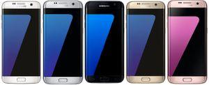 Samsung Galaxy S7 Edge SM-G935F Smartphone - VARIANTE, Farbe:Schwarz, Speicherkapazität:32 GB