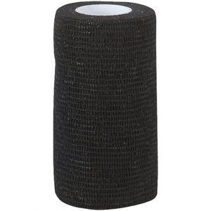 Kerbl EquiLastic selbsthaftende Bandage, 7.5 cm breit, schwarz