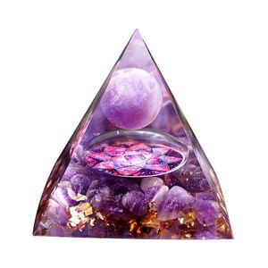 Heilstein Kristall Pyramide Positive Heilkristall für Schutz Meditation/Yoga