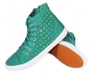 Pepperts Mädchen Sneaker Schuhe - Emerald, 33
