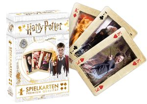 Number 1 Spielkarten Harry Potter gold Kartenspiel Karten Spiel Fanartikel