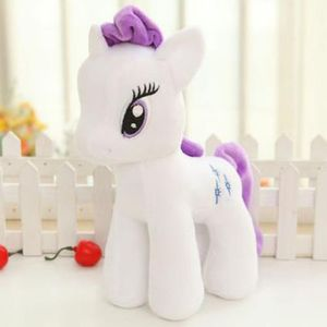 My Little Pony Plüschtier Schmusetier Kuscheltier Kinder Weihnachten Geschenk Stoffpuppe Rarity