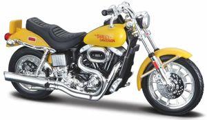 Maisto 34360-38 - Modellmotorrad - HD Serie 38, Modell:1977 FXS Low Rider