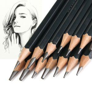 14 Stk Skizzierstifte Set Bleistifte Zeichnen Skizzieren Kohlestift Zeichenstift