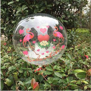 Flamingo Ballon Aufkleber Luftballons DIY Aufkleber für Valentine Deko