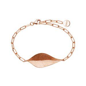 Xenox Damen Armband Leaf Sterling Silber 925 in Rosé - XS1891R