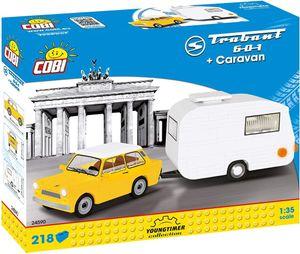 Cobi 223 Pcs Cars /24590/ Trabant 601 + Caravan