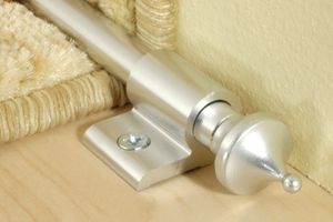 Endkappe | spitz | Teppichstange | Alu | eloxiert | Effector | 25x18x18mm | A06Z1, Farbe:Gold