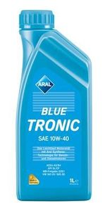 1 Liter ARAL 10W-40 BlueTronic MB 229.1 VW 501 01 Fiat 9.55535-D2 VW 505 00