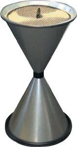 Standascher anthrazit Stahlblech mit Einlegesieb Metall H770xD.405mm