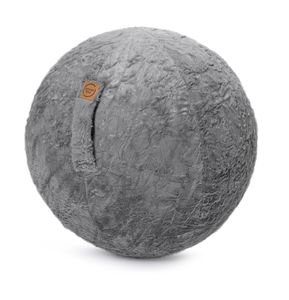MAGMA Heimtex SITTING BALL FLUFFY SB65F02  65cm; MITTELGRAU