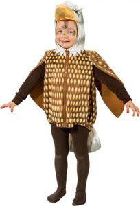 O5036-104 bunt Kinder Mädchen Junge Adler Weste-Kostüm Gr.104