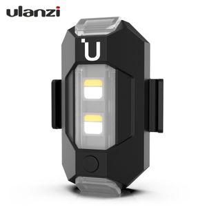 Ulanzi Drone Strobe Light Blinklicht 3 Farben Langsam schnell blinkend Antikollisionslicht mit integriertem 110-mAh-Batteriewechsel fuer DJI Mavic AIR 2 und die meisten Drohnenersatzzubehoerteile