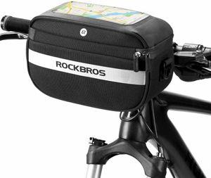 ROCKBROS Fahrradtasche Lenkertasche Fahrrad Korb Lenkradkorb Einkaufstasche DHL