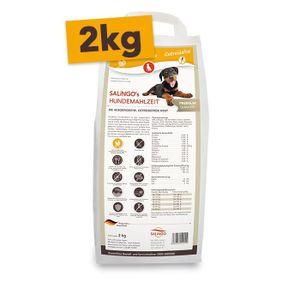 SALiNGO Premium Hunde Trockenfutter Geflügel mit Gemüse | getreidefrei | 2 kg