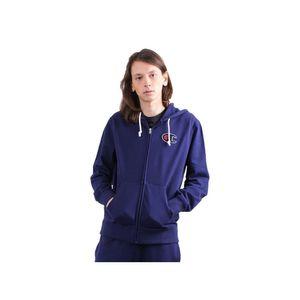 Champion Hooded Full Zip Herren Sweatshirt Blau, Größe:M