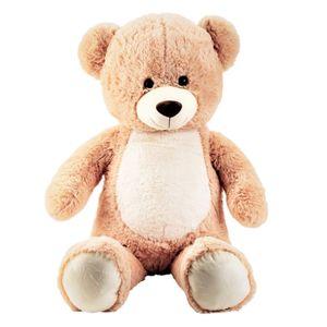 XL Teddybär mit hellem Bauch 80cm Kuscheltier Teddy