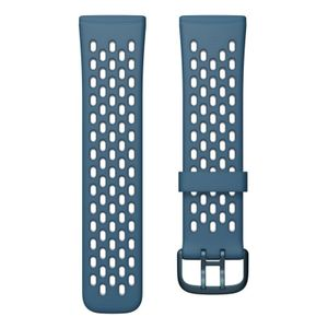 Fitbit Versa 3/ Sense Sport Band Sapphire/ Fog Grey, Farbe:Grau
